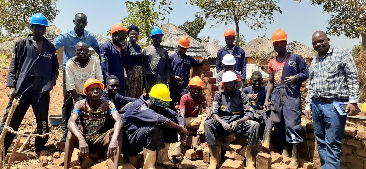 Skills training turns South Sudanese refugees to constructors