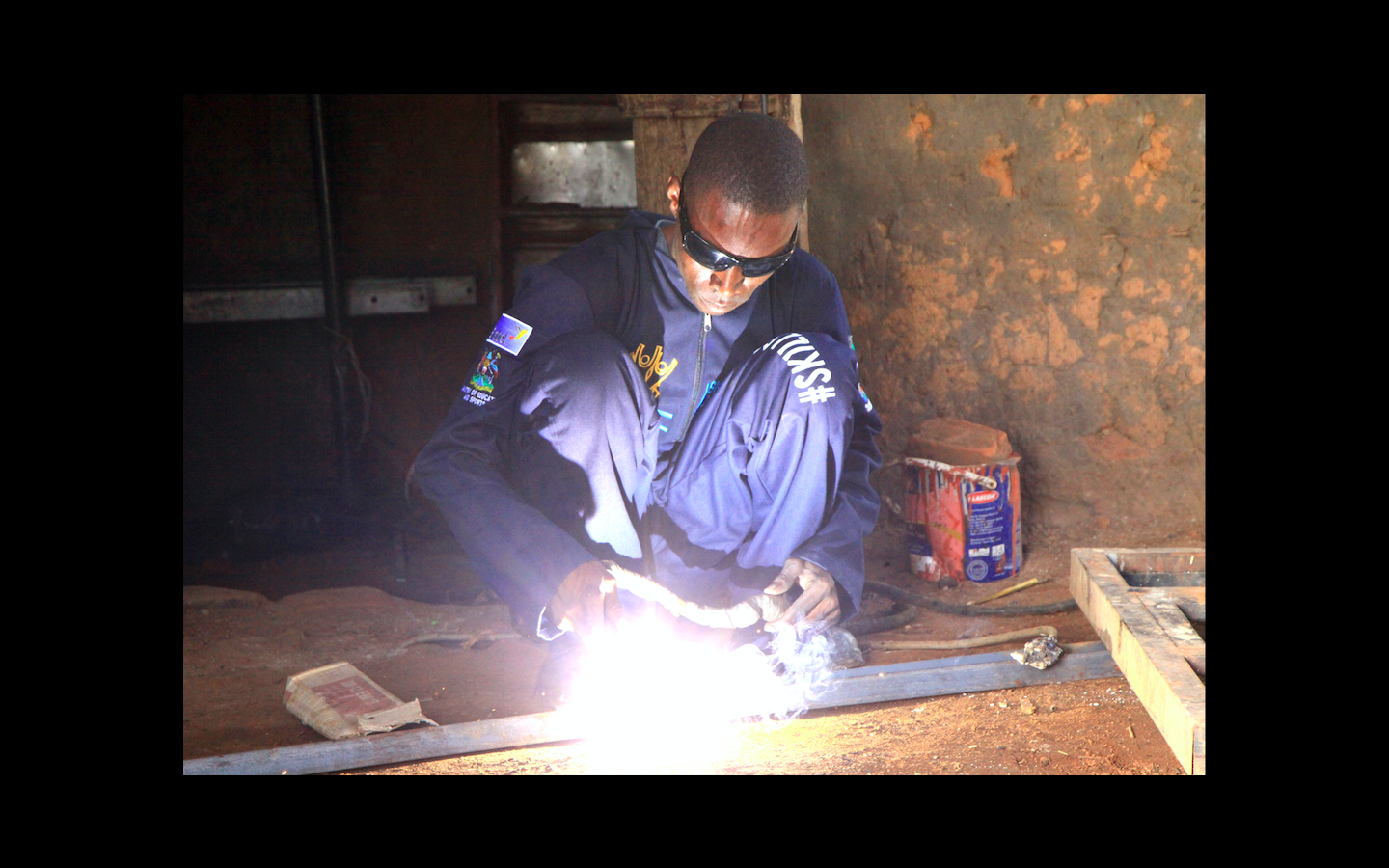 SKILLING HAS TURNED EMMANUEL FROM A CASUAL WORKER TO AN ENTREPRENEUR