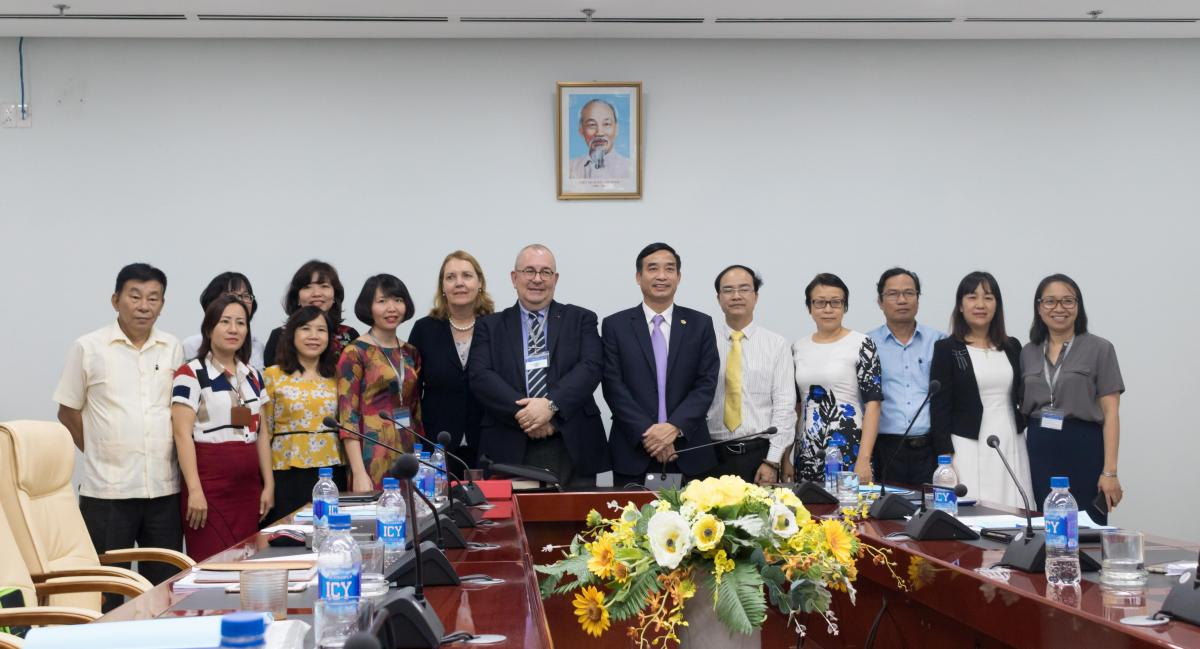 workshop on Food safety in Danang