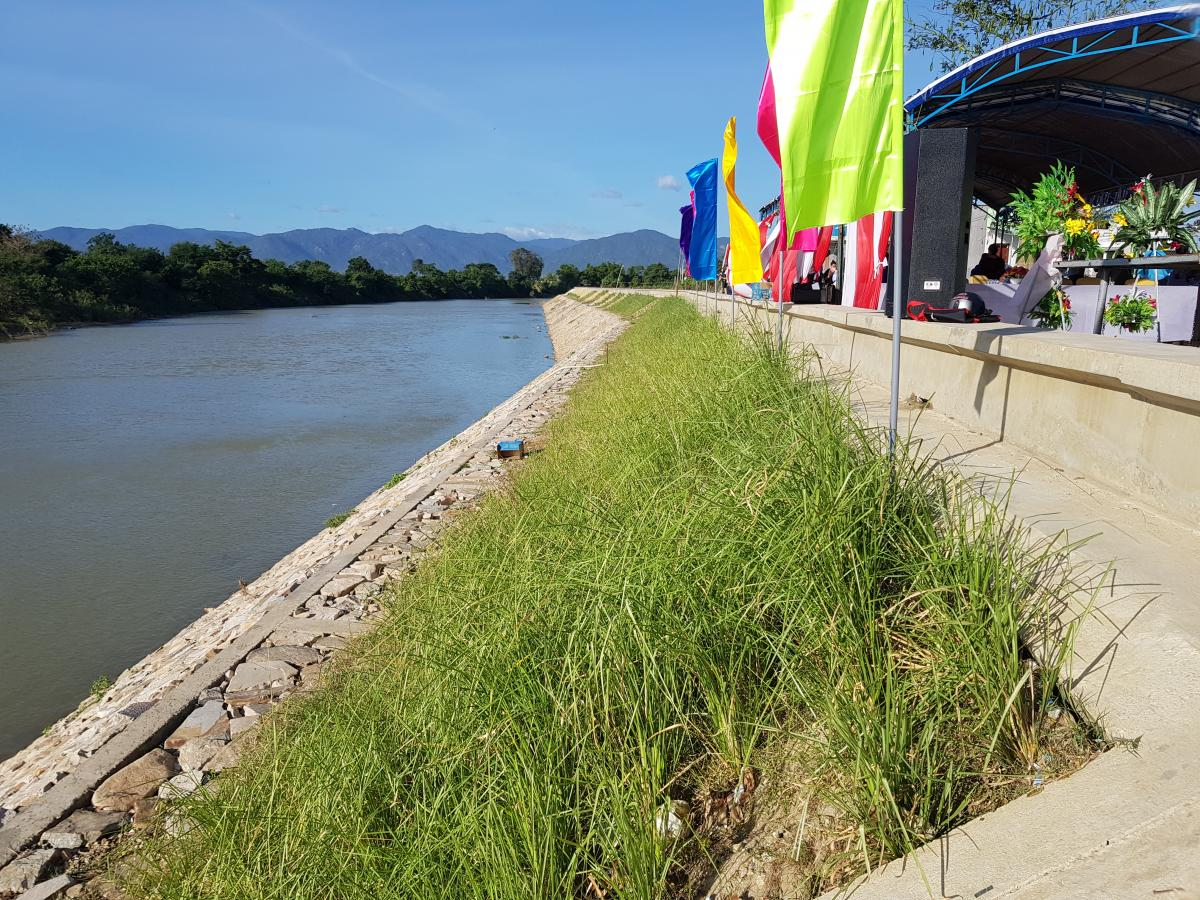 Belgian Ambassador at Inauguration Ceremony for River Bank Works in Binh Thuan