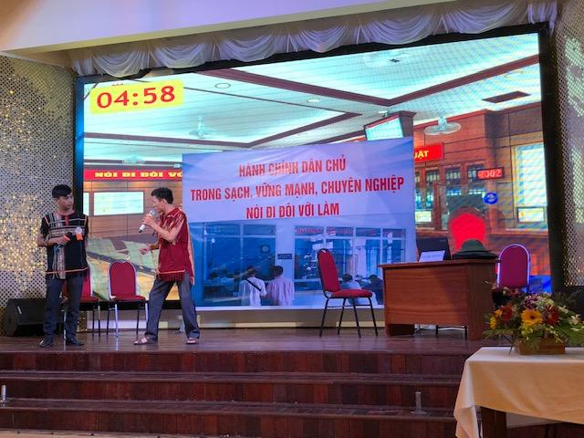Kon Tum city held contest on implementation of public administration reform